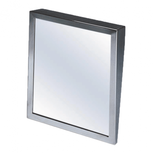 Square Tilted Frame Mirror