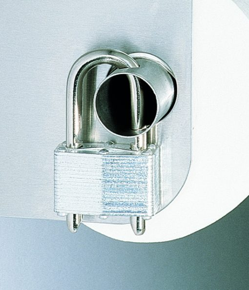 Lock for Toilet Tissue Dispenser