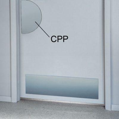 Circle Push Plate