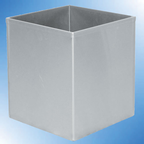 Square Stainless Steel Bin