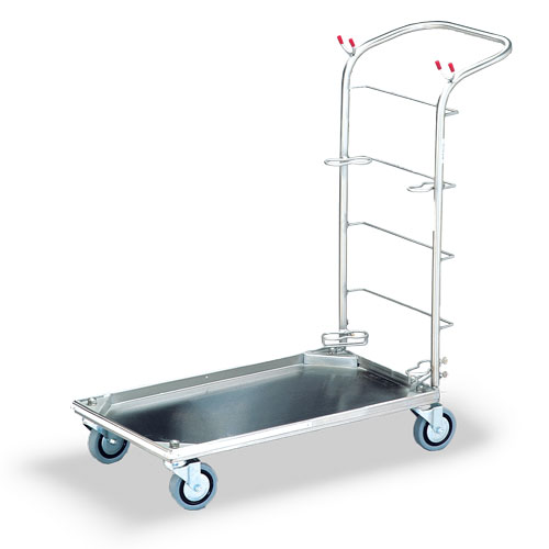 Stainless steel small trolley