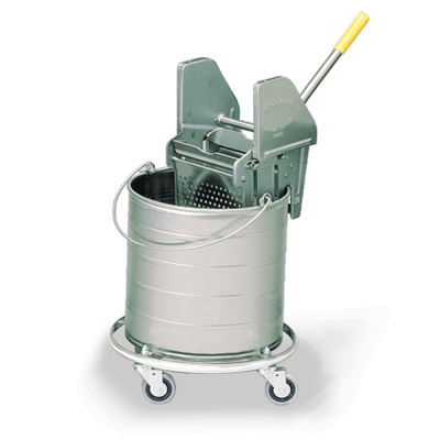Castered Bucket Mopping Combo