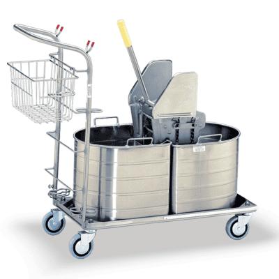 Platform Housekeeping Double Bucket Unit
